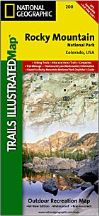 National Geographic Trails Illustrated Map for Rocky Mountain National Park