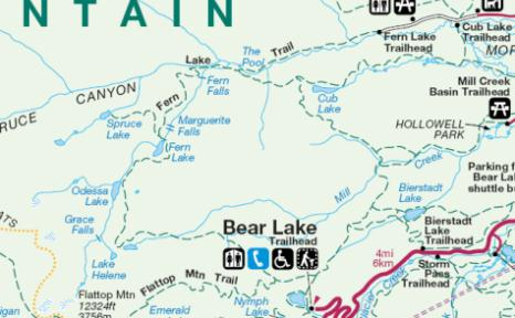Hike from Bear Lake to Fern Lake in Rocky Mountain National Park